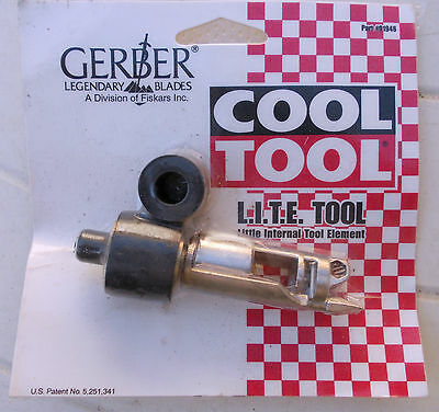 "COOL TOOL L.I.T.E.Tool ""little internal tool element"" Gerber Vintage FREE POST"