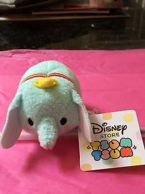 "Tsum Tsum Dumbo Disney Store Original Exclusive RARE Mint 3.5"" + Tags"