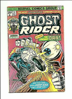 Ghost Rider #14 - Uncanny Orb Marvel Comic