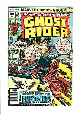 Ghost Rider #22 - The Enforcer Marvel Comic