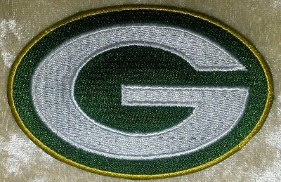 "Green Bay Packers  3.5"" Iron On Embroidered Patch ~USA Seller~FREE Ship!"