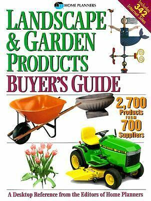 Landscape and Garden Products Buyer's Guide : Over 2,700 Products . Free Ship!