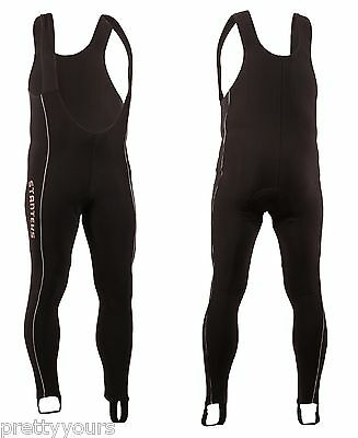 50d38aa2732e3 NEW MENS CYCLING bib tights padded Coolmax cycle pants with braces UK Size  S-XXL - EUR 26,84 | PicClick FR