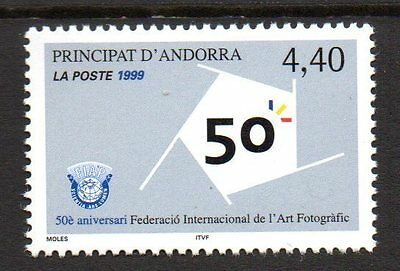 Andorre, French - 1999 Society for photographic art Mi. 542 MNH