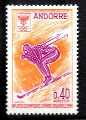 Andorre, French - 1968 Olympic games Grenoble Mi. 207 MNH