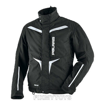 OEM Polaris Mens Snowmobile 3-in-1 Black Adventure Jacket Size S-3XL