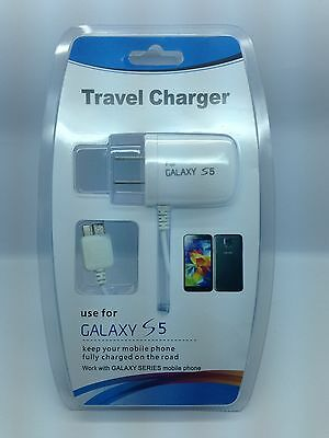 Lot Of 5 New Home Charger For Samsung Galaxy S5 Galaxy Note 3 Usb 3.0 Micro
