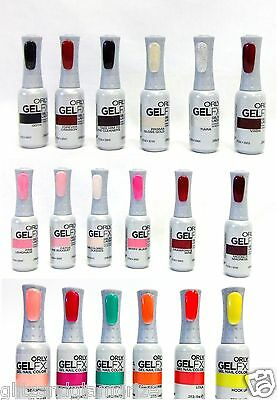 Orly GelFX Gel FX Soak Off Gel Polish Assorted Colors Variety Choice .3oz/9ml