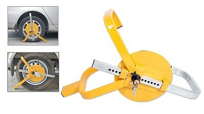 Security Heavy Duty Wheel Clamps locks with Protective Disc Safety for Car Boat