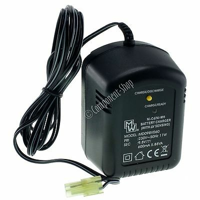 600mA Automatic Fast Charger for 8.4V Airsoft Batteries