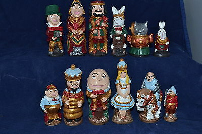 Alice Through the Looking Glass Chess Set Latex Moulds Molds