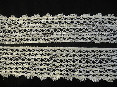 Great Vintage Hairpin Lace Type Lace, Trim, Insert, Edging
