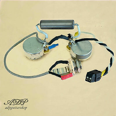 Kit Control Electro Archtop 1 Pickup Vintage Wiring harness Sans Soudure NO Sold