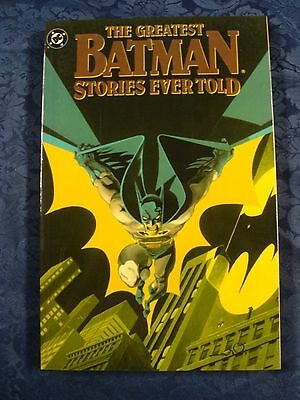 The Greatest Batman Stories Ever Told - Volume Two 1st Print (1988) *DC Comics*