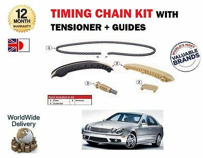 For Mercedes C Class C180 C200 C230 Kompressor 2002-2008 Timing Cam Chain Kit