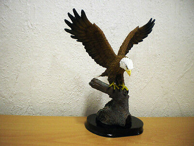 Weißkopfseeadler (Kunstharz) / White-Headed Eagle (Synthetic Resin)