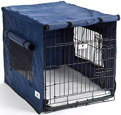 Premium Waterproof Dog Crate Covers, Blue, Small, Medium, Intermediate & Large
