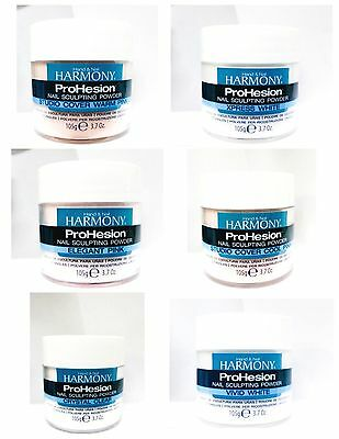 Harmony Hand & Nail ProHesion Acrylic Powder Assorted Variety Choice 3.7oz/105g