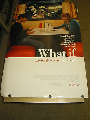 What If  /orig. U.s. One Sheet Movie  Poster  (Daniel Radcliffe)Ds