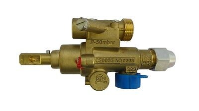 Pel 22S Gas Safety Catering Valve Straight Horizontal Input/outlet
