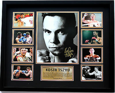 New Kostya Tszyu Signed Limited Edition Memorabilia