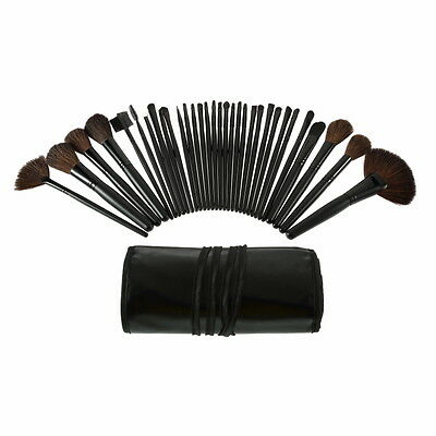 32 Pcs Professional Makeup Eyebrow Shadow Cosmetic Brush Set Kit With Pouch  AP