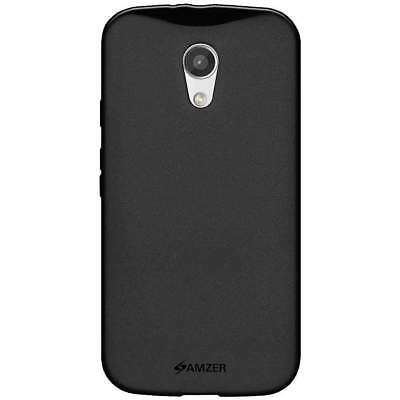 AMZER PUDDING TPU SOFT SKIN BACK CASE PROTECTOR COVER FOR MOTO G 2nd Gen 2014
