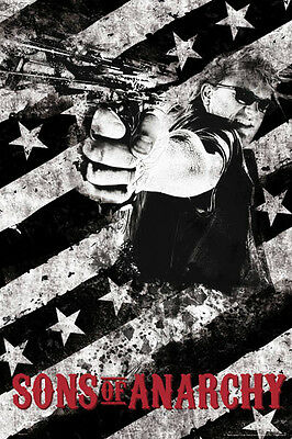 Sons of Anarchy - Jax with gun POSTER 61x91cm NEW * Jackson Teller
