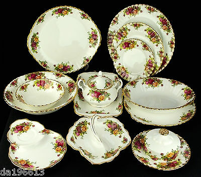 Royal Albert Old Country Roses Vintage Pieces Made in England