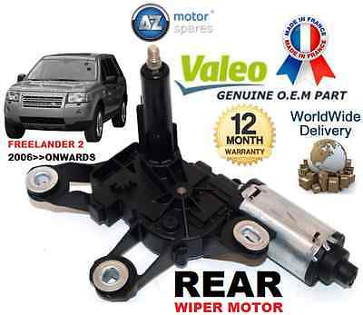 For Land Rover Freelander 2 2006-->On  New Rear Wiper Motor Original Valeo Part