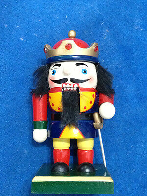 Nutcracker New 6 1/2 Inch (6.5 inch) Royalty Soldier Fighter Guarder Wooden