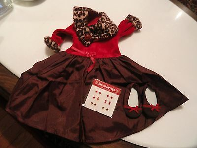 AMERICAN GIRL CHOCOLATE, CHERRY OUTFIT, RETIRED