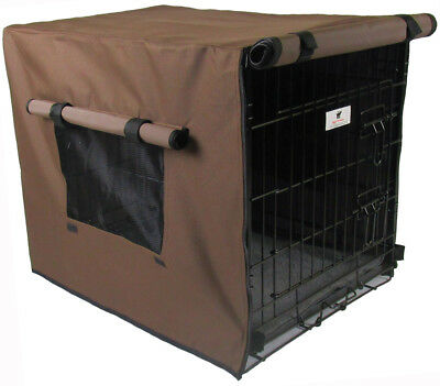 Waterproof Dog Crate Covers, Chocolate Brown Small, Medium, Intermediate, Large