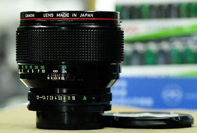 Canon FD 85mm F/1.2 L 85/1.2 L Manul focus Lens for Canon FD Mount