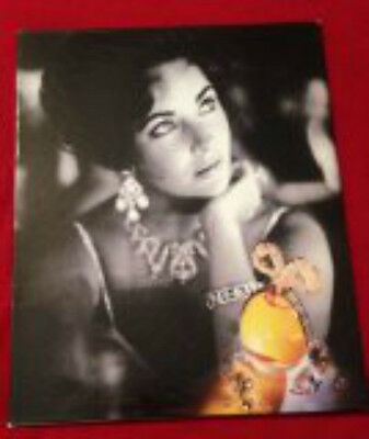 ELIZABETH TAYLOR WHITE DIAMONDS 15th ANNIVERSARY PROMO BOOKLET - SIGNED -UNIQUE