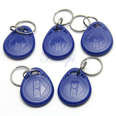 5PCs EM4305 125Khz RFID Writable Rewrite Proximity ID Token Tag Key Keyfobs YG