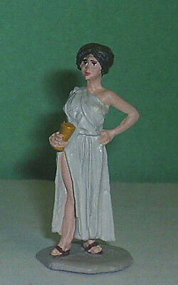 TOY SOLDIERS METAL ANCIENT ROMAN WOMAN  #9 54MM