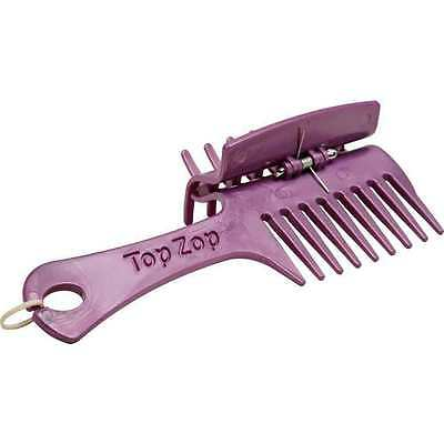 TopZops Plaiting Comb, Grooming Combs, Plaiting Clips BN