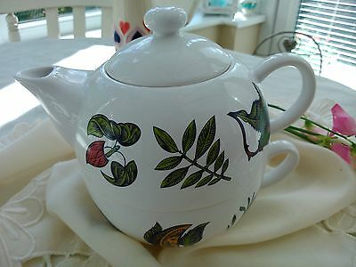 TEAPOT FOR ONE SET Teapot/cup for one CRABTREE & EVELYN England VCG