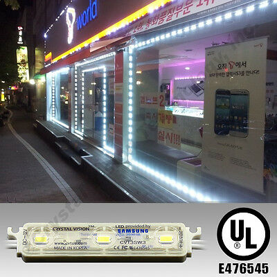 LG INSTALLED STORE FRONT WINDOW PREMIUM LED MODULE 50ft WHITE 2 YR WARRANTY