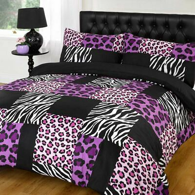Kruger Purple Duvet Bedding Set - Single-Double-King Size-Super King Size