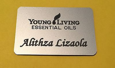 Young Living Essential Oils Independent Distributor Name Badge  Personalize