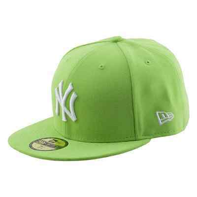 New Era Cappello Con Visiera Piatta League Basic New York Yankees Verde cf3d854a1314
