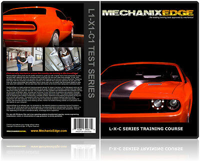 MechanixEdge L1 X1 C1 ASE Certification STUDY GUIDE Test Preparation COURSE
