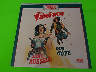 THE PALEFACE - Encore Edition Extended - LASERDISC - Jane Russell  Bob Hope