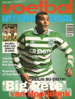 V.I. 1996 nr. 03 - VAN HOOIJDONK & CELTIC/CUROVIC/NEWCASTLE UNITED/HUIBERTS