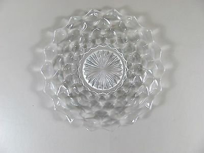 "Reduced! Fostoria AMERICAN-CLEAR 7"" Salad Plate"