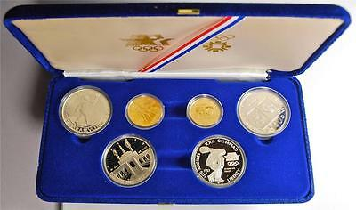 1983/1984 Winter Olympics Gold & Silver Proof Commemorative Set, P2
