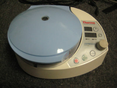 Thermo Electron Expresso Centrifuge Model 11210800 WORKS!!! No Rotor
