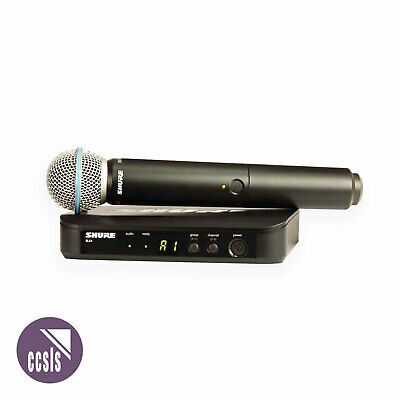 Shure Blx24B58 Wireless Microphone System With Beta 58A Handheld Transmitter